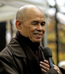 Thich Nhat Hanh in Paris, 2006.